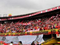 Foto: Barra: La Guardia Albi Roja Sur • Club: Independiente Santa Fe • País: Colombia