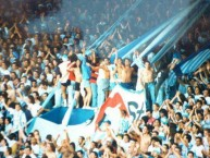 "Foto: ""Vieja banda"" Barra: La Guardia Imperial • Club: Racing Club"