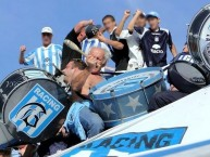 "Foto: ""Pantera"" Barra: La Guardia Imperial • Club: Racing Club"