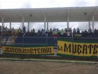 "Foto: ""En Popayán"" Barra: Rebelión Auriverde Norte • Club: Real Cartagena"