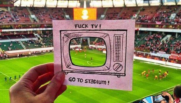 Imagini pentru fuck tv go to stadium