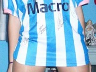 Hincha - Tribunera - Chica - Fanatica - La Guardia Imperial - Racing Club