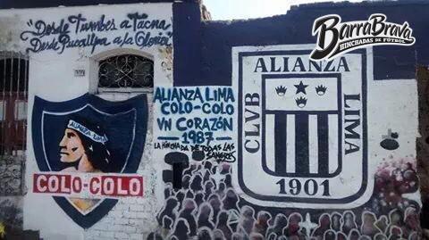 murales graffitis comando svr alianza lima