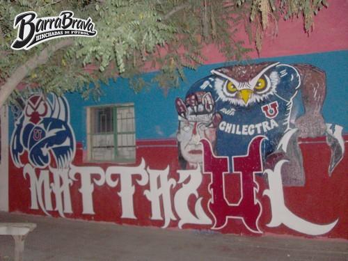 Murales Graffitis Los De Abajo Universidad De Chile La U