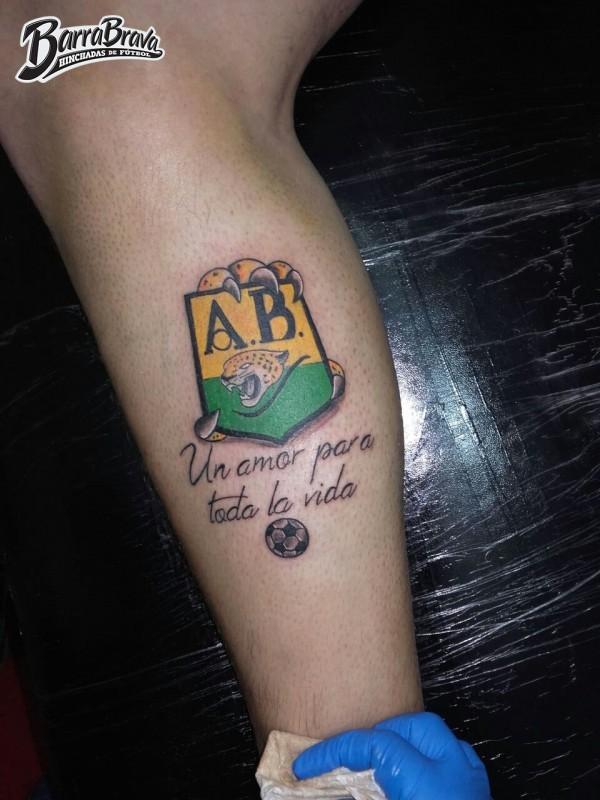 Tattoos Tatuajes Fortaleza Leoparda Sur Atletico Bucaramanga
