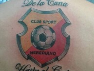 Tattoo - Tatuaje - tatuagem - Tattoo - Tatuaje: Garra Herediana - Herediano - Costa Rica