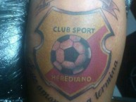 Tattoo - Tatuaje - tatuagem - Tattoo - Tatuaje - Garra Herediana - Herediano