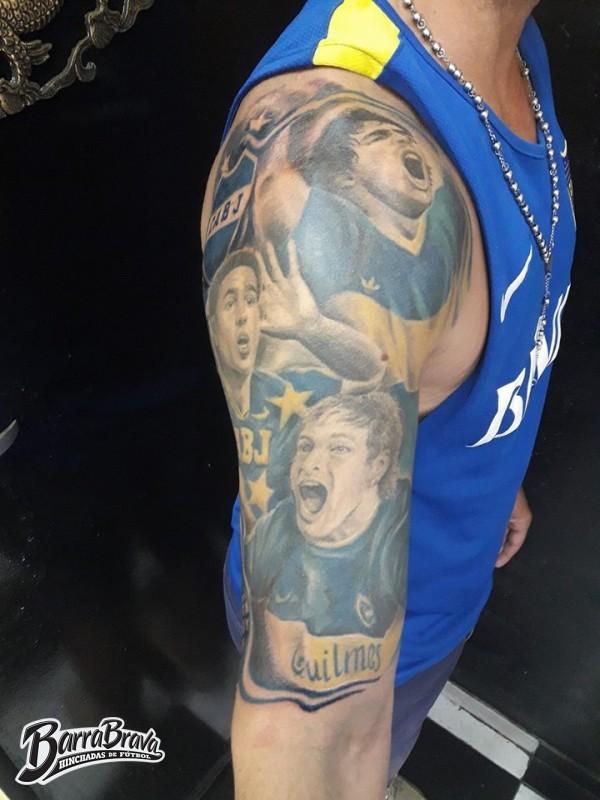Tattoos Tatuajes Recientes La 12 Boca Juniors