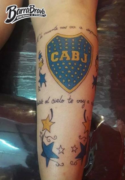 Tattoos Tatuajes La 12 Boca Juniors