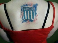 Tattoo - Tatuaje - tatuagem - Tatuaje de la Barra: La Guardia Imperial • Club: Racing Club