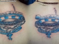 Tattoo - Tatuaje - tatuagem - Tattoo - Tatuaje: La Guardia Imperial - Racing Club - Argentina