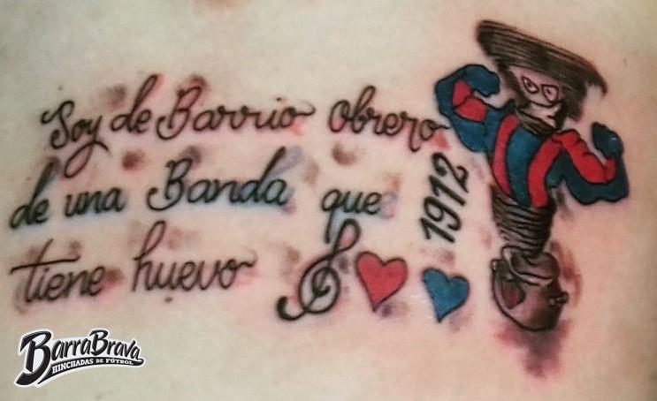 Tattoos Tatuajes La Plaza Y Comando Cerro Porteño