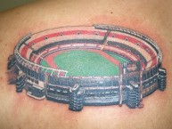"Tattoo - Tatuaje - tatuagem - Tattoo - Tatuaje - ""Estadio Monumental de Nuñez"" - Los Borrachos del Tablón - River Plate"