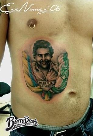 Tattoos Tatuajes Recientes Los Del Sur Atletico Nacional